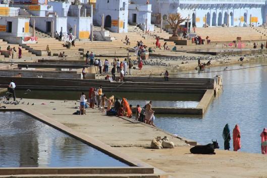 The baths at Pushkar
