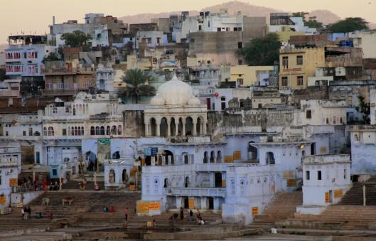 Sunrise in Pushkar