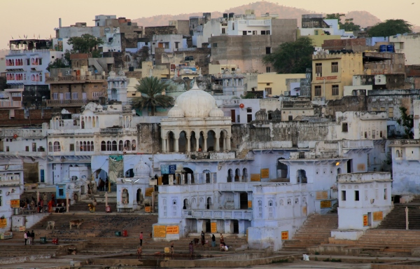 Sunrise in Pushkar