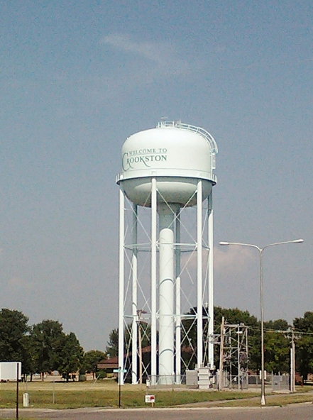 Crookston Water Tower, though not the one from when I lived there.
