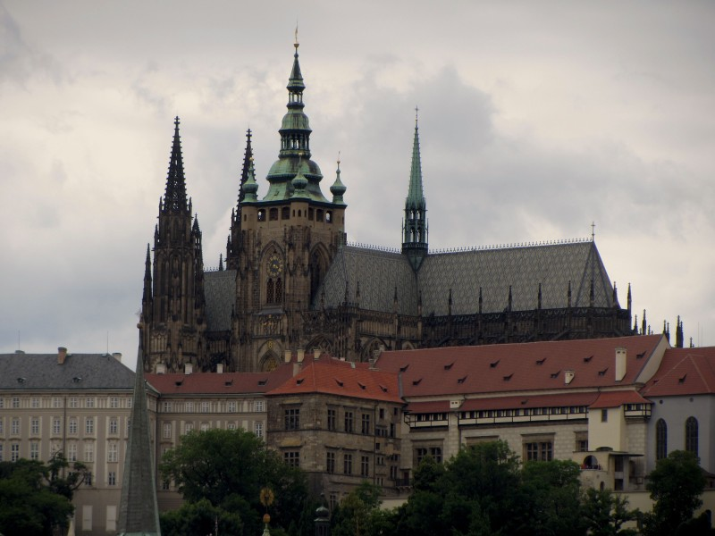 St. Vitus and the Prague Castle from the Charles Bridge