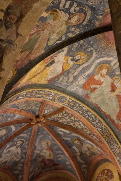 Ceiling detail from St. George Church, Romanesque Building