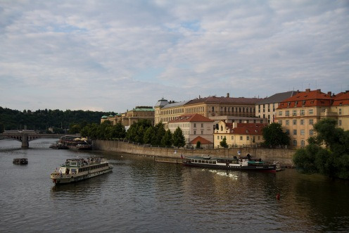 View from the Bridge, Vltava River