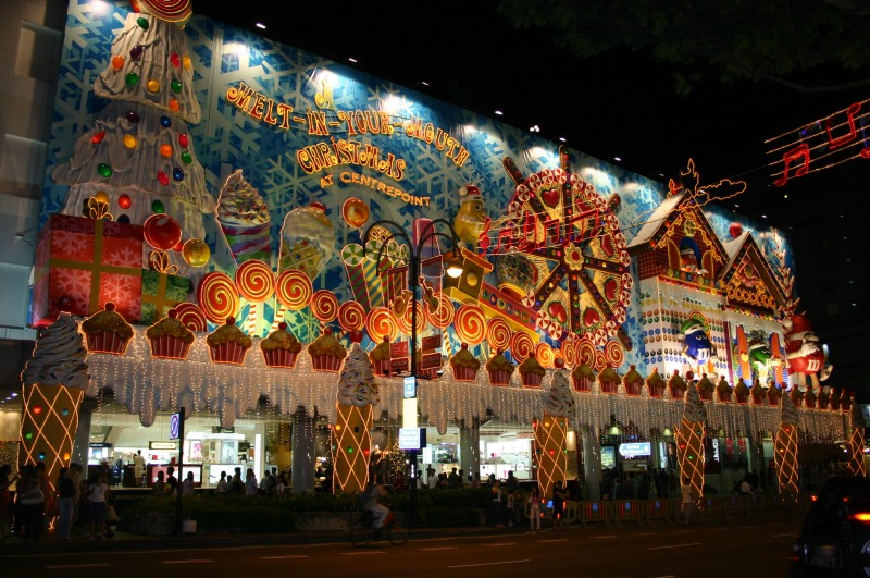 Christmas Decorations, Singapore, 2005