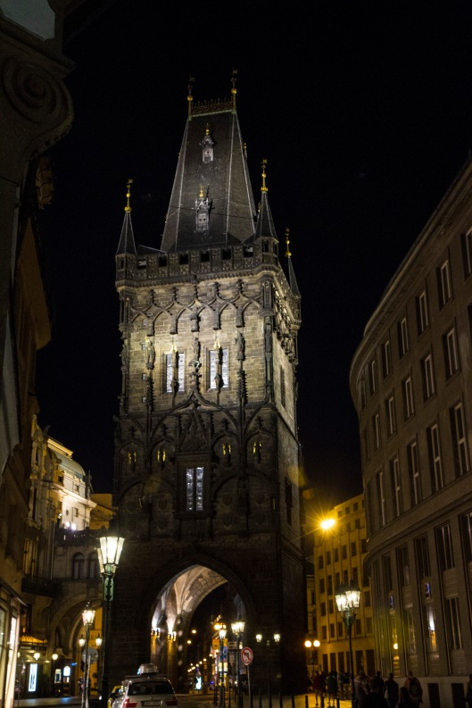 Powder Tower, Prague, Czech Republic