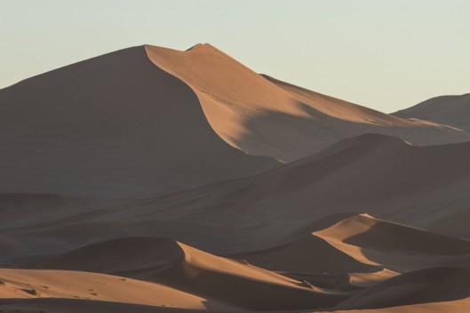 Sunrise at Sossousvlei, Namibia
