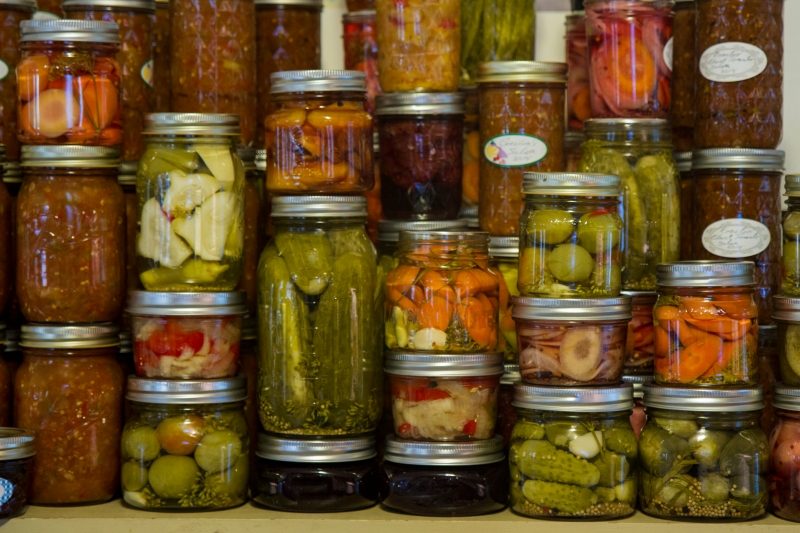 Home food preservation (canning) at its best.