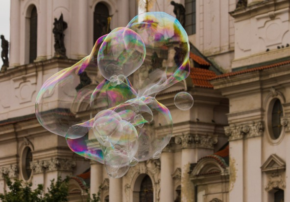 Bubbles, Old Town Square, Prague, Czech Republic