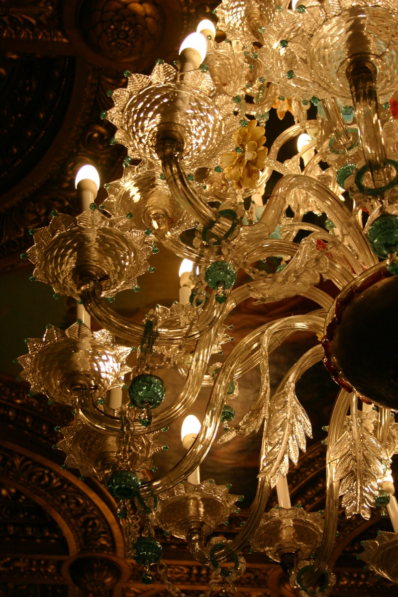 Chandelier, Florentine Hall, Peles Castle, Romania