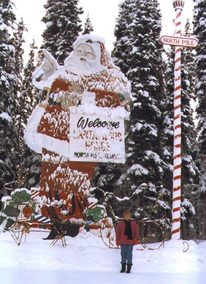The Santa Claus House, North Pole, Alaska