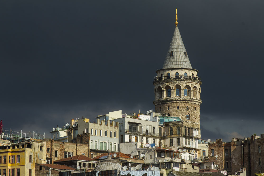 Galata Tour before the storm.