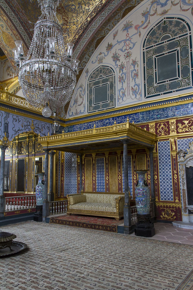 Imperial Hall in the Harem, Topkapi Palace, Istanbul, Turkey