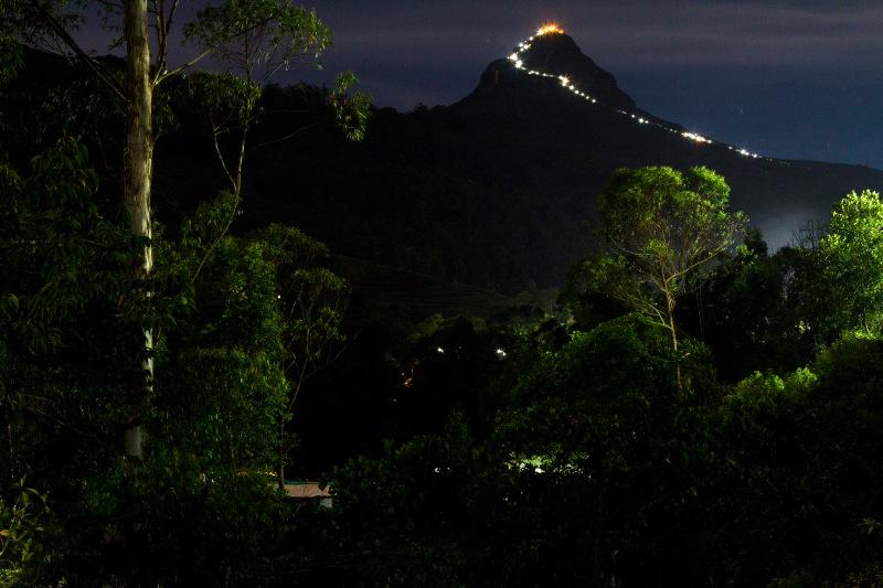 The Path to the Top -  Sri Pada, Sri Lanka