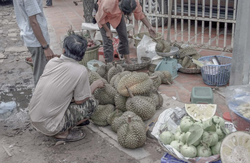 Durian: possibly the worst smell on earth.