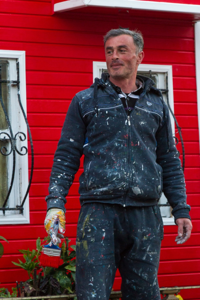 House Painter Poses