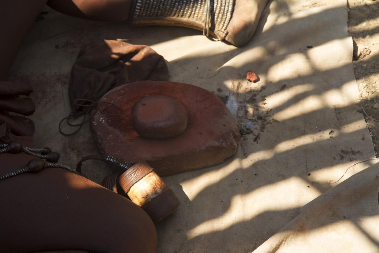 Grinding Stone for Ochre Pigment