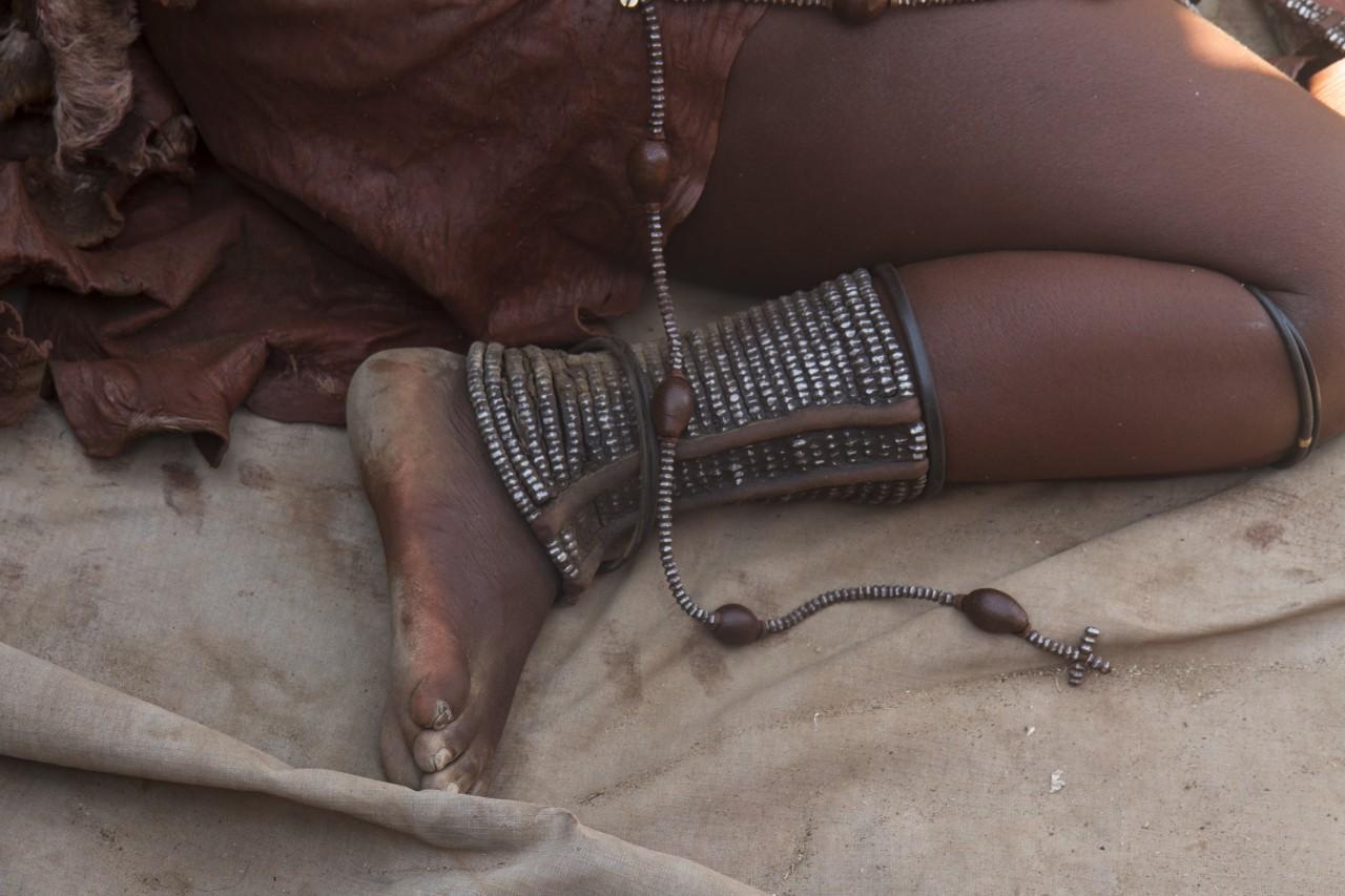 Himba Woman's Leg Ornament