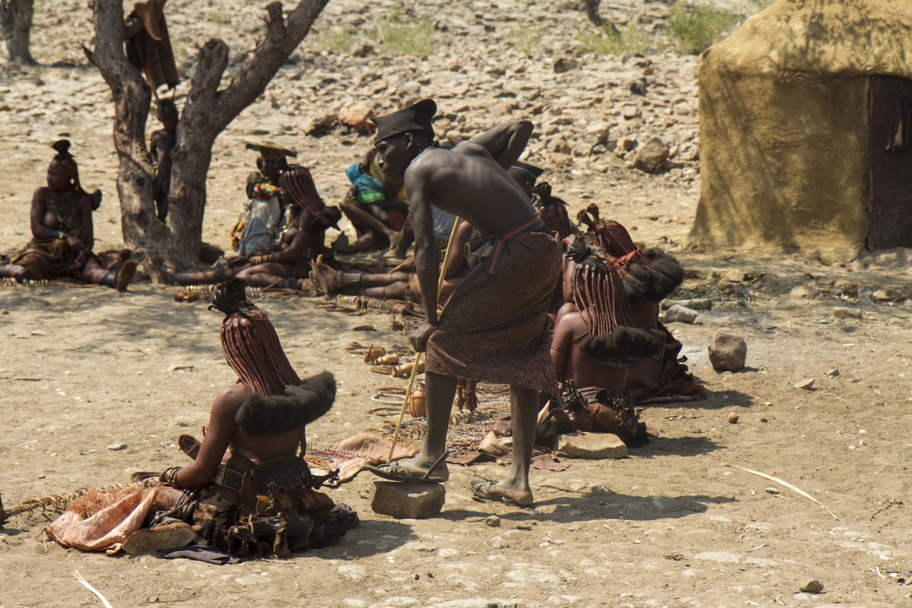 Himba Craft Sellers