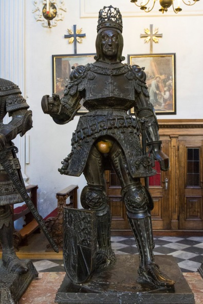 Armored one - Kaiser Rudolf, Court Church, Innsbruck, Austria