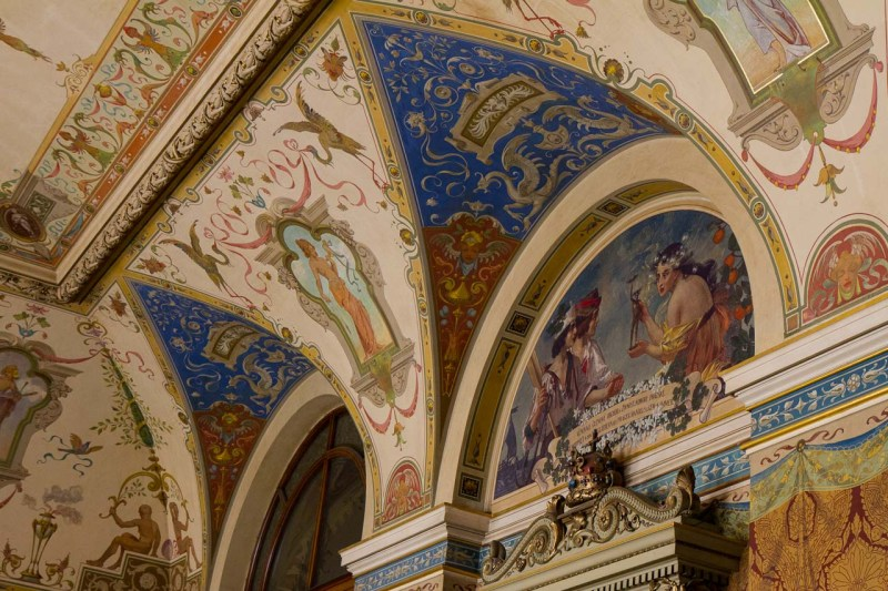 Ceiling Detail, Museum of Decorative Arts, Prague