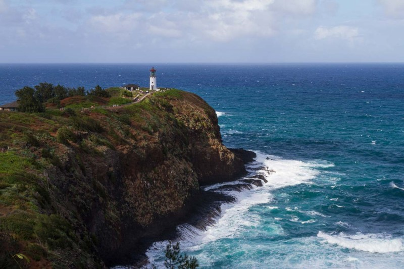 Daniel K. Inouye Kilauea Point Lighthouse was built in 1913 as a beacon for traveling ships.