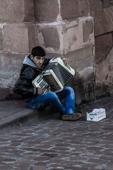 Street Musician, Heidelberg, Germany