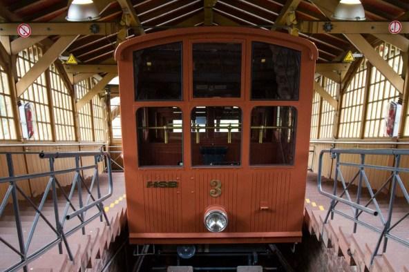 Funicular Car, Heidelberg, Germany