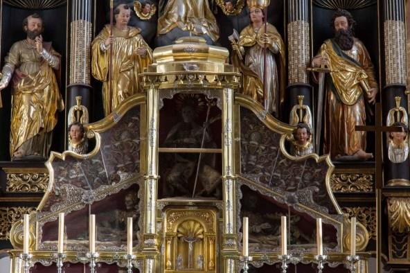 Dead Saints Behind Glass