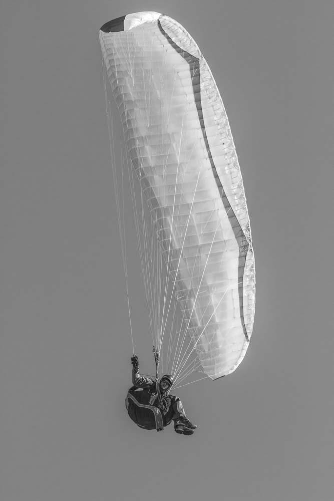 Paragliding Above Innsbruck