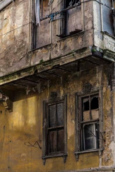 Derelict building, Istanbul, Turkey