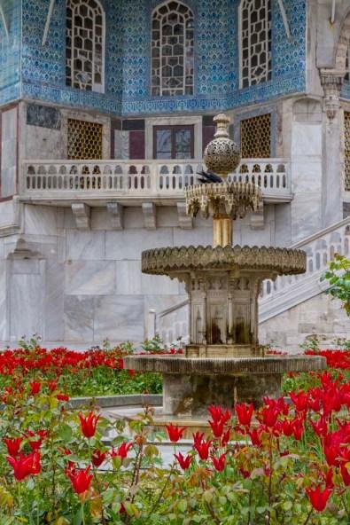 Fountain, Topkapi Palace, Istanbul, Turkey