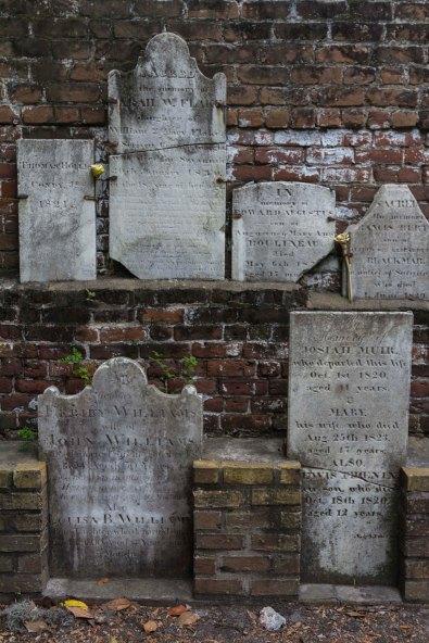 Colonial Cemetery, Savannah, Georgia