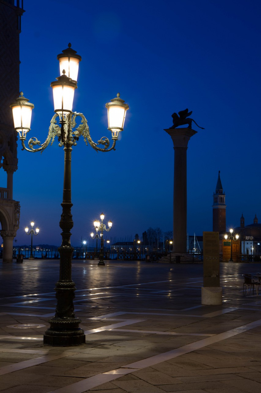 Dawn from the Piazza Ducale