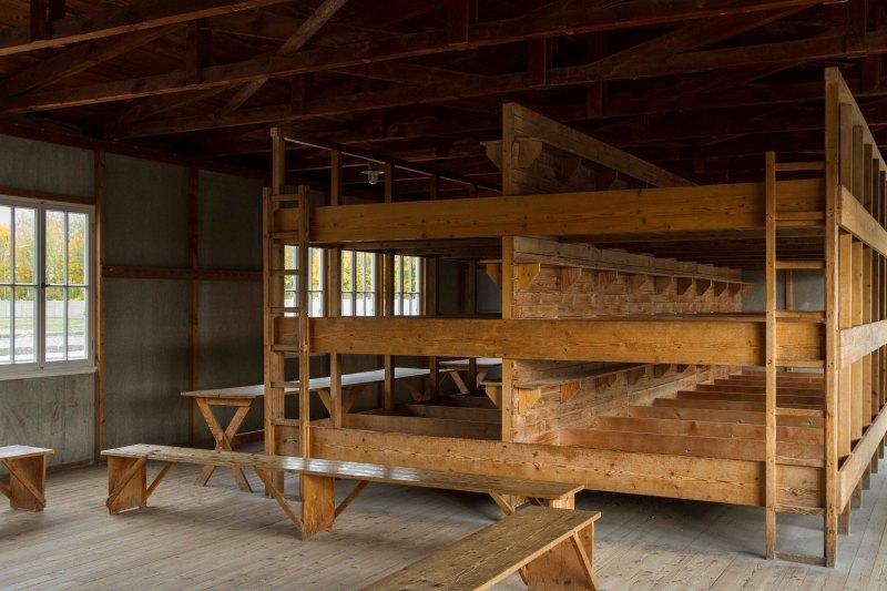 Dormitory at Dachau