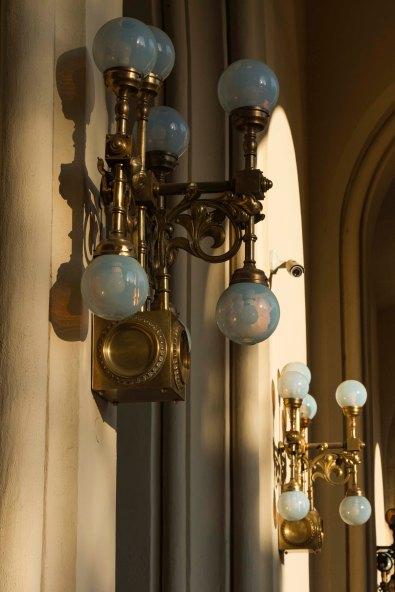 Exterior Lights, Vigado' Concert Hall, Budapest, Hungary
