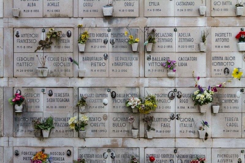 At Death's Door, San Michele, Venice, Italy