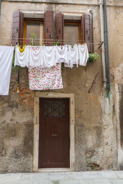 Laundry, Venice, Italy