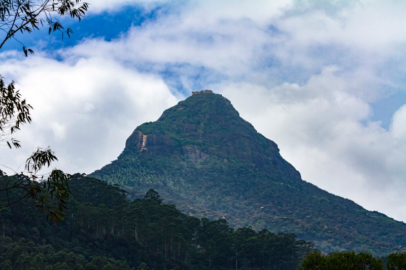 Sri Pada or Adam's Peak, Sri Lanka