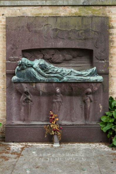 San Michele Cemetery, Near Venice, Italy
