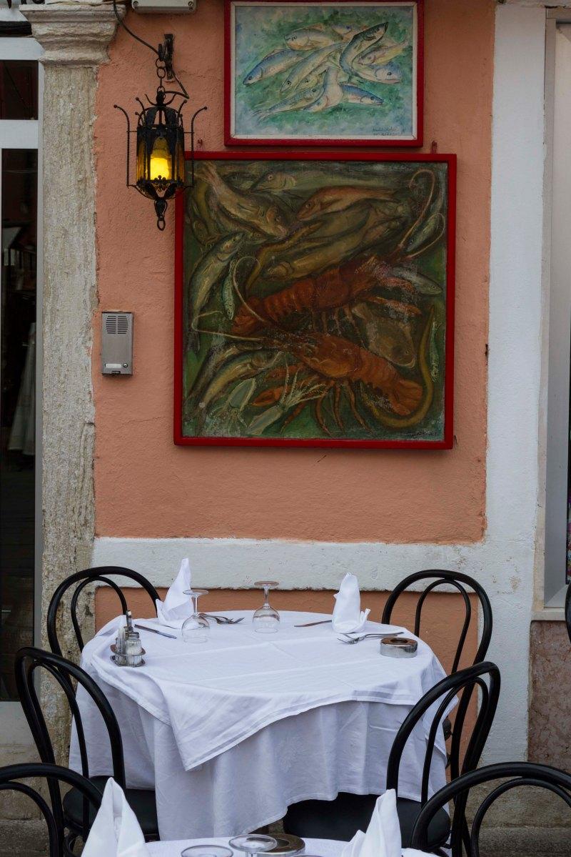 Restaurant, Burano, Italy