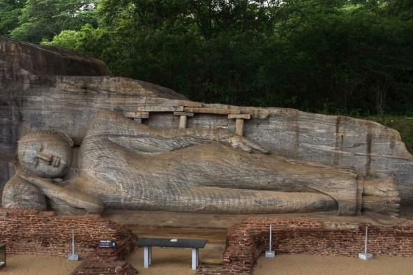 Reclining Buddha, Pollonuara, Sri Lanka