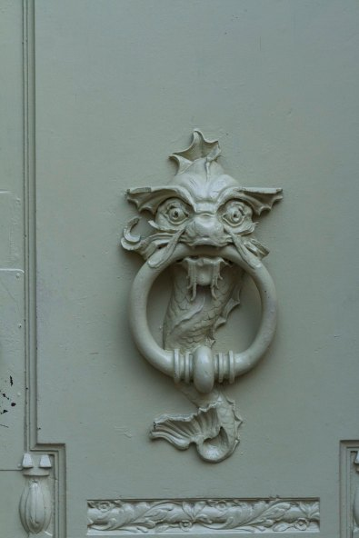 Art Nouveau Door knocker, Brno, Czech  Republic