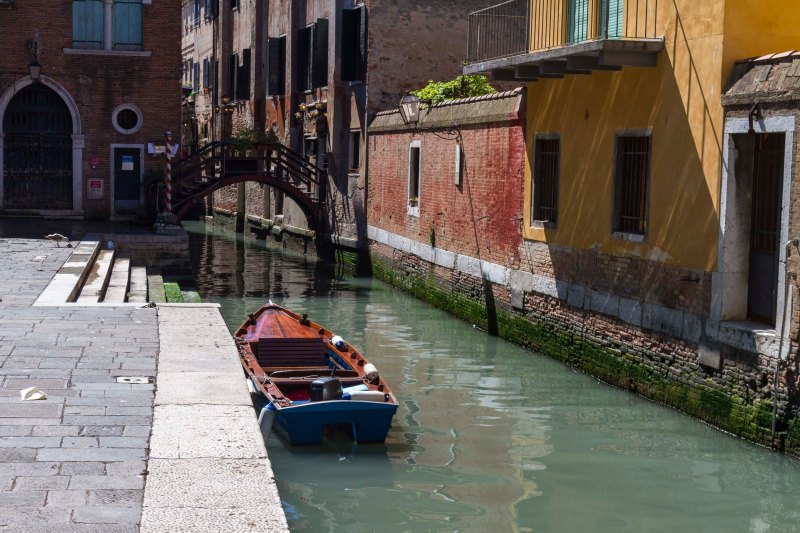 Turbid Water, Venice, Italy
