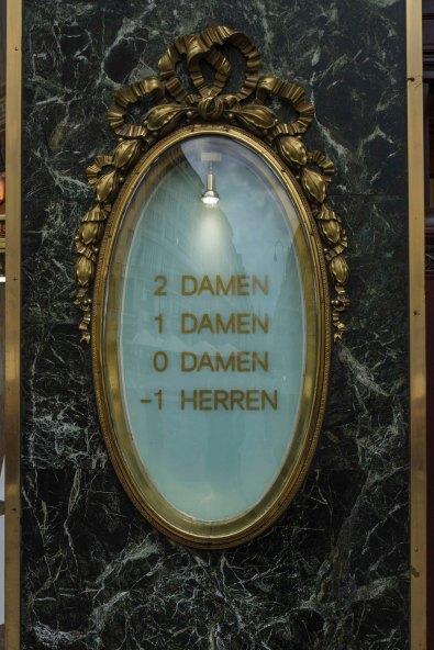 Department Store Floor Directory, Vienna, Austria
