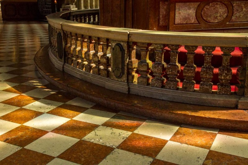 Floor and Altar Railing, St. Stephen's, Vienna, Austria