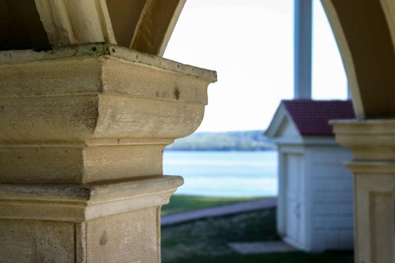 A View From Mount Vernon, Virginia