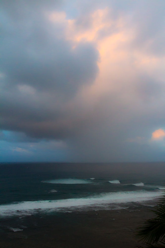 Pacific Rain Clouds