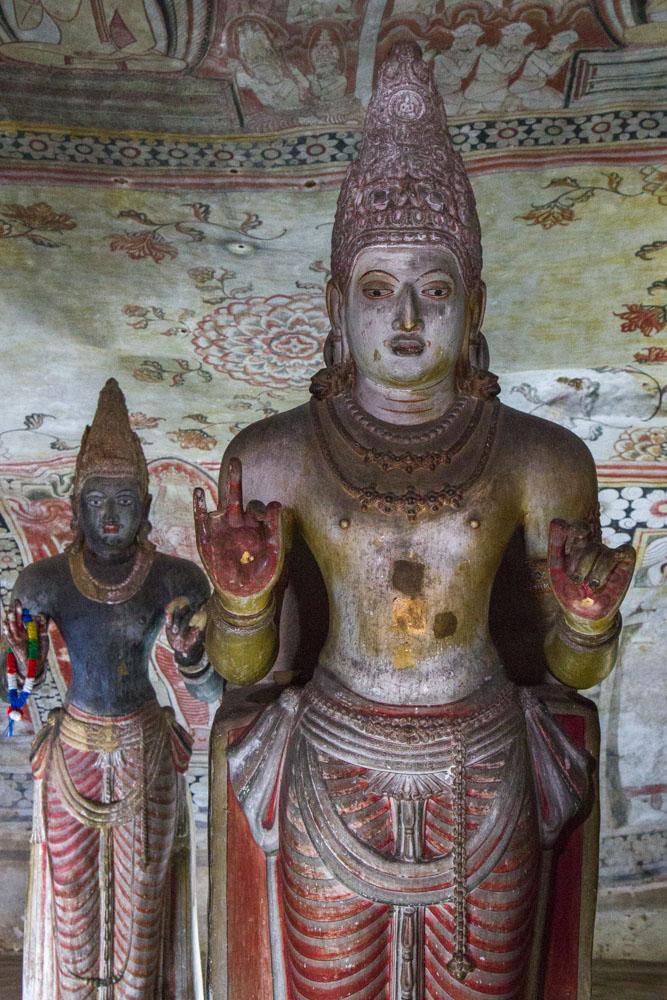 Hindu , Dambulla Caves, Sri Lanka