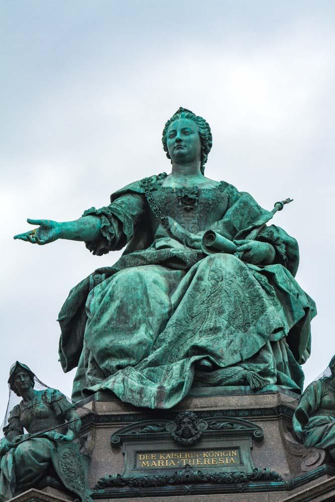 Empress Maria Theresa of Austria, Vienna, Austria
