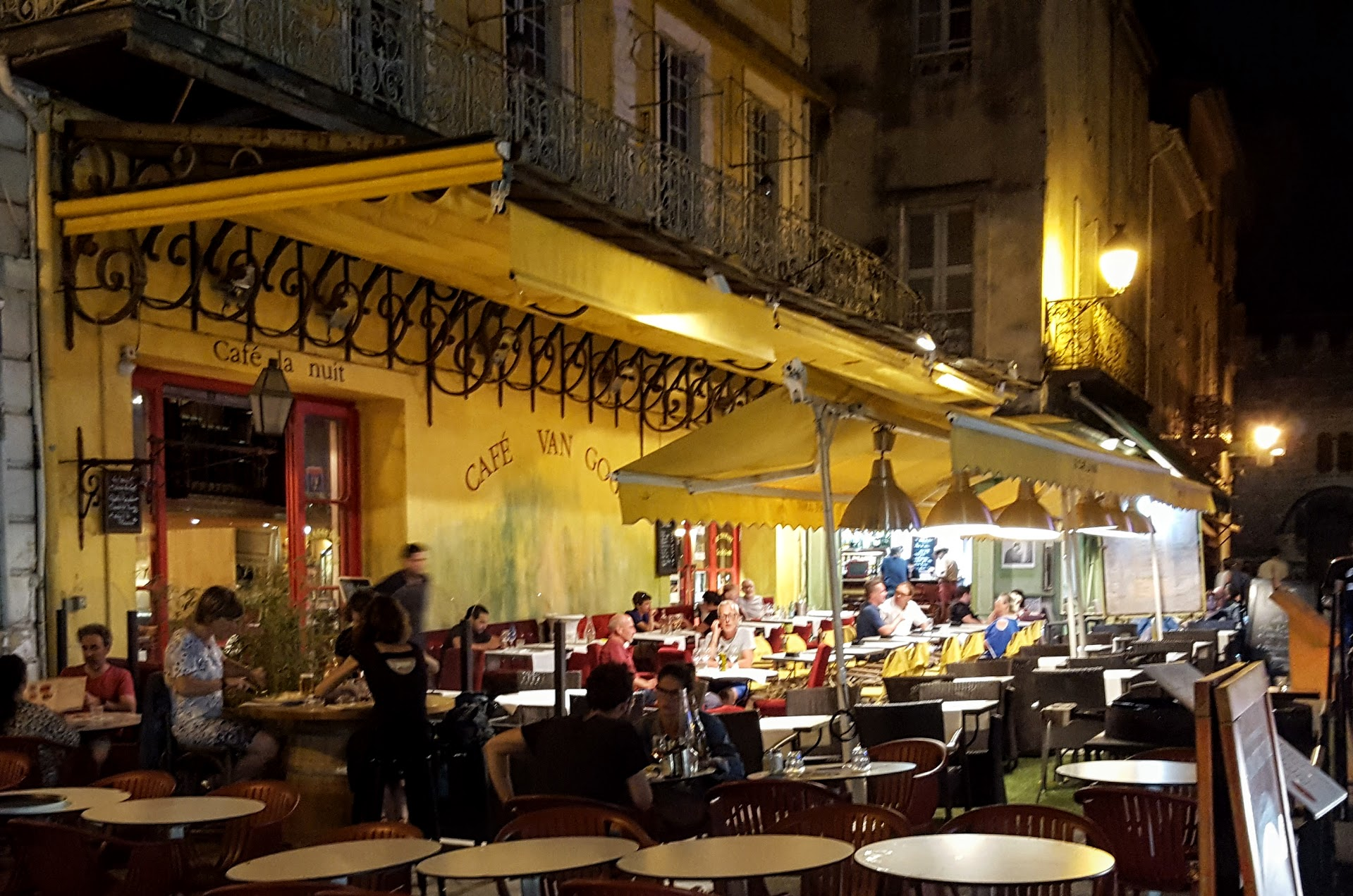 Cafe Van Gogh, Arles France, 2016